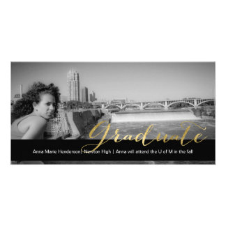 Golden Grad Card