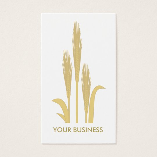 Golden Grains of Wheat Business Card