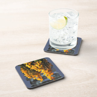 Golden Grapes Beverage Coaster