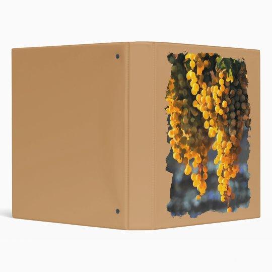Golden Grapes Binder