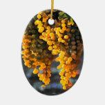 Golden Grapes Christmas Tree Ornament