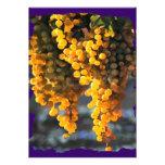 Golden Grapes Custom Invite