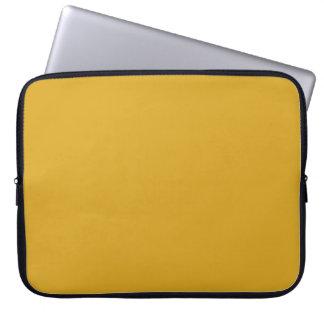 Golden Grass Laptop Sleeve Electronics Bag