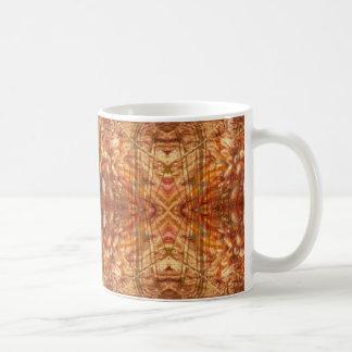 Golden grasses design mug