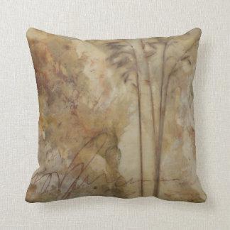Golden Grasses Pillow