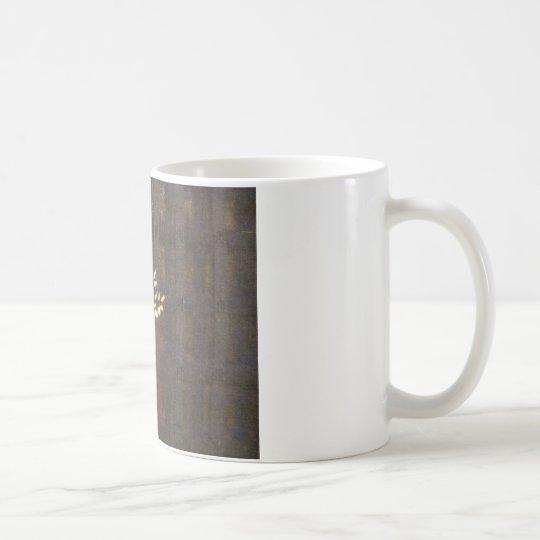 Golden Gray Coffee Mug