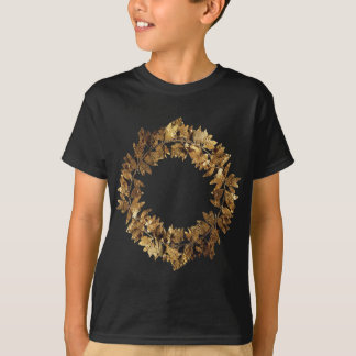 Golden Greek King Crown T-Shirt