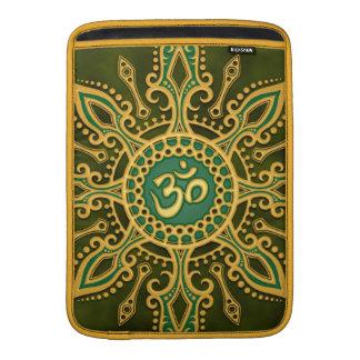 Golden Green Aum Star Sleeve For MacBook Air