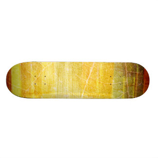 GOLDEN GREEN RED BROWN STRIPES TEMPLATE VINTAGE TE SKATEBOARD