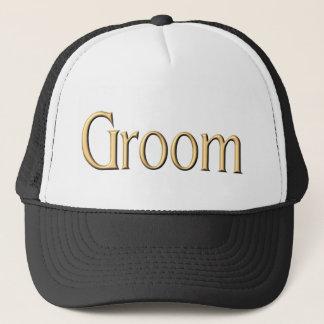 Golden Groom hat