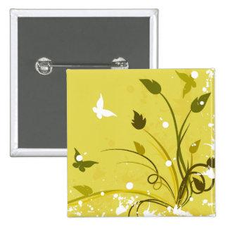 Golden Grunge Butterflies Pins