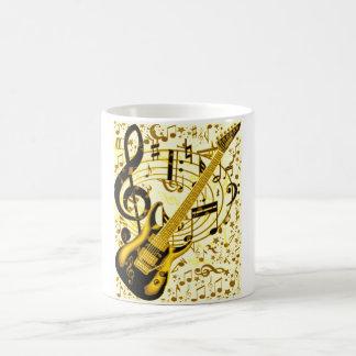 Golden Guitar_ Coffee Mug
