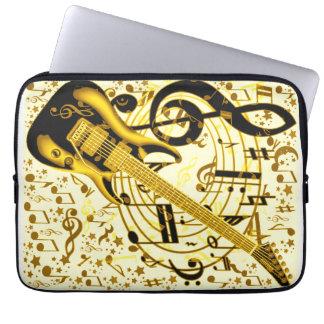 Golden Guitar_ Computer Sleeves