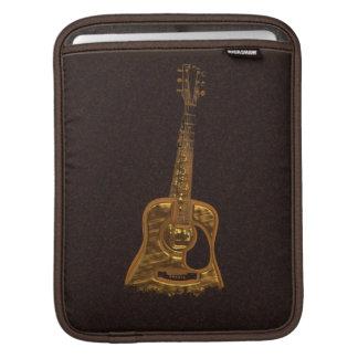 Golden Guitar Music Lover's iPad Sleeve