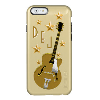 Golden Guitar (Personalized) Incipio Feather® Shine iPhone 6 Case