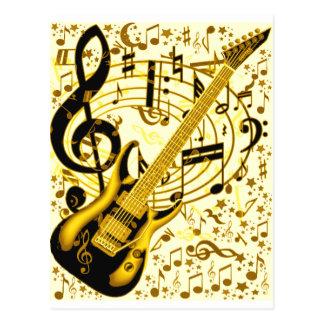 Golden Guitar_ Postcard
