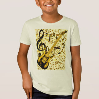 Golden Guitar_ T-Shirt
