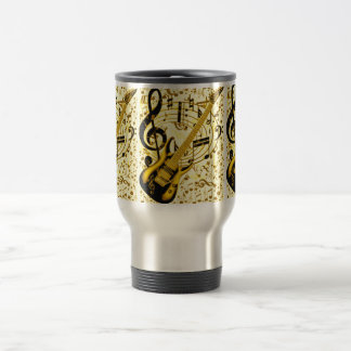 Golden Guitar_ Travel Mug