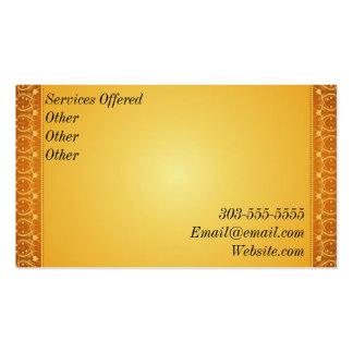 Golden Gun Business card