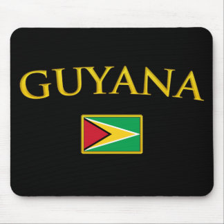 Golden Guyana Mouse Pads
