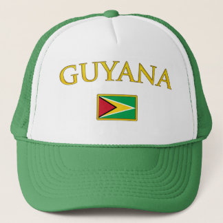 Golden Guyana Trucker Hat