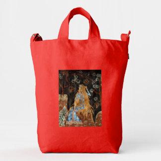 Golden Hair Duck Bag