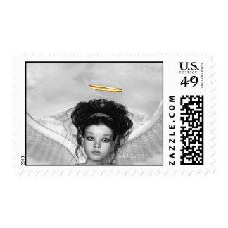 Golden Halo Postage Stamps