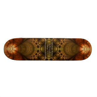 Golden Halo Skateboard