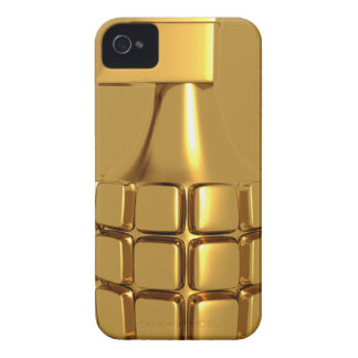 Golden Hand Grenade Blackberry Bold  Case iPhone 4 Covers