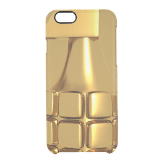 Golden Hand Grenade Uncommon Clearly™ Deflector iPhone 6 Case
