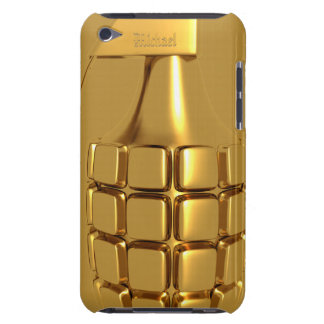 Golden Hand Grenade iPod Case-Mate Case