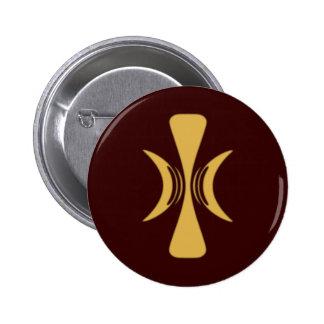 Golden Hand of Eris 2 Inch Round Button