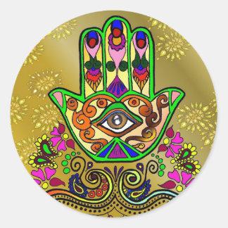 Golden Hand of Fatima, Sticker