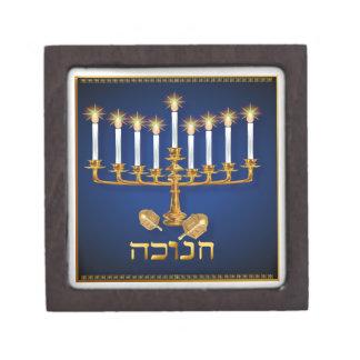 Golden Hanukkah Premium Gift Boxes