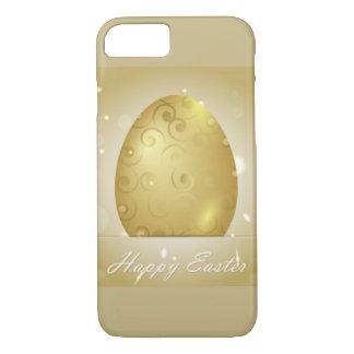 Golden Happy Easter Egg Design iPhone 8/7 Case