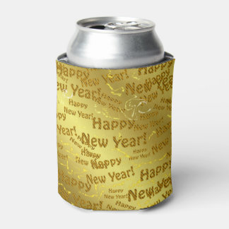 golden happy new years can cooler