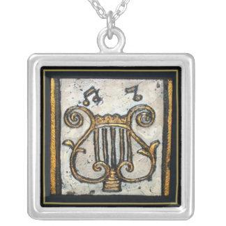Golden Harp Custom Necklace