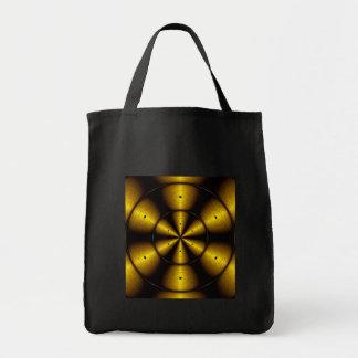 Golden Harvest Grocery Tote Bag