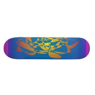 Golden Harvest Custom Skate Board