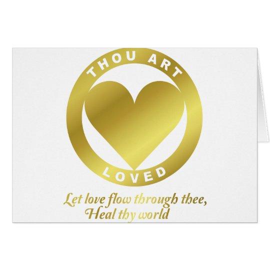 Golden Heart Award - When Atlas Shirked Card