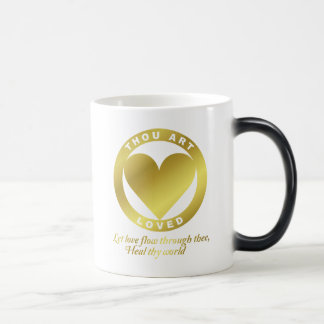 Golden Heart Award - When Atlas Shirked Magic Mug