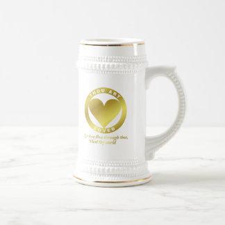 Golden Heart Award - When Atlas Shirked 18 Oz Beer Stein