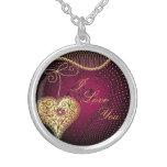 Golden Heart Custom Necklace