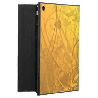 Golden heart pattern iPad air covers