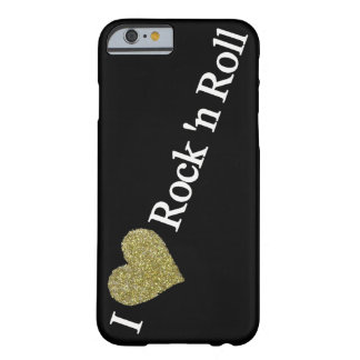 golden heart rock'n' roll barely there iPhone 6 case
