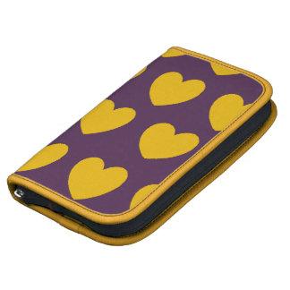 Golden Hearts Folio (Smartphone) Organizer