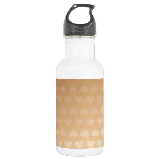 GOLDEN Hearts Light Shade by NAVIN JOSHI Water Bottle