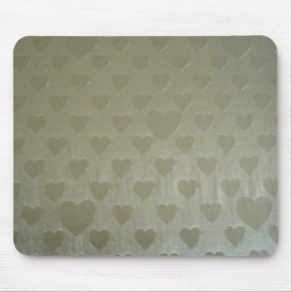 Golden Hearts Mouse Pad