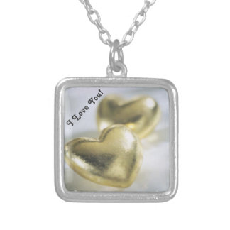 Golden Hearts - Necklace