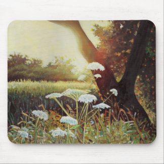 Golden hedgerow I 2014 Mouse Pad